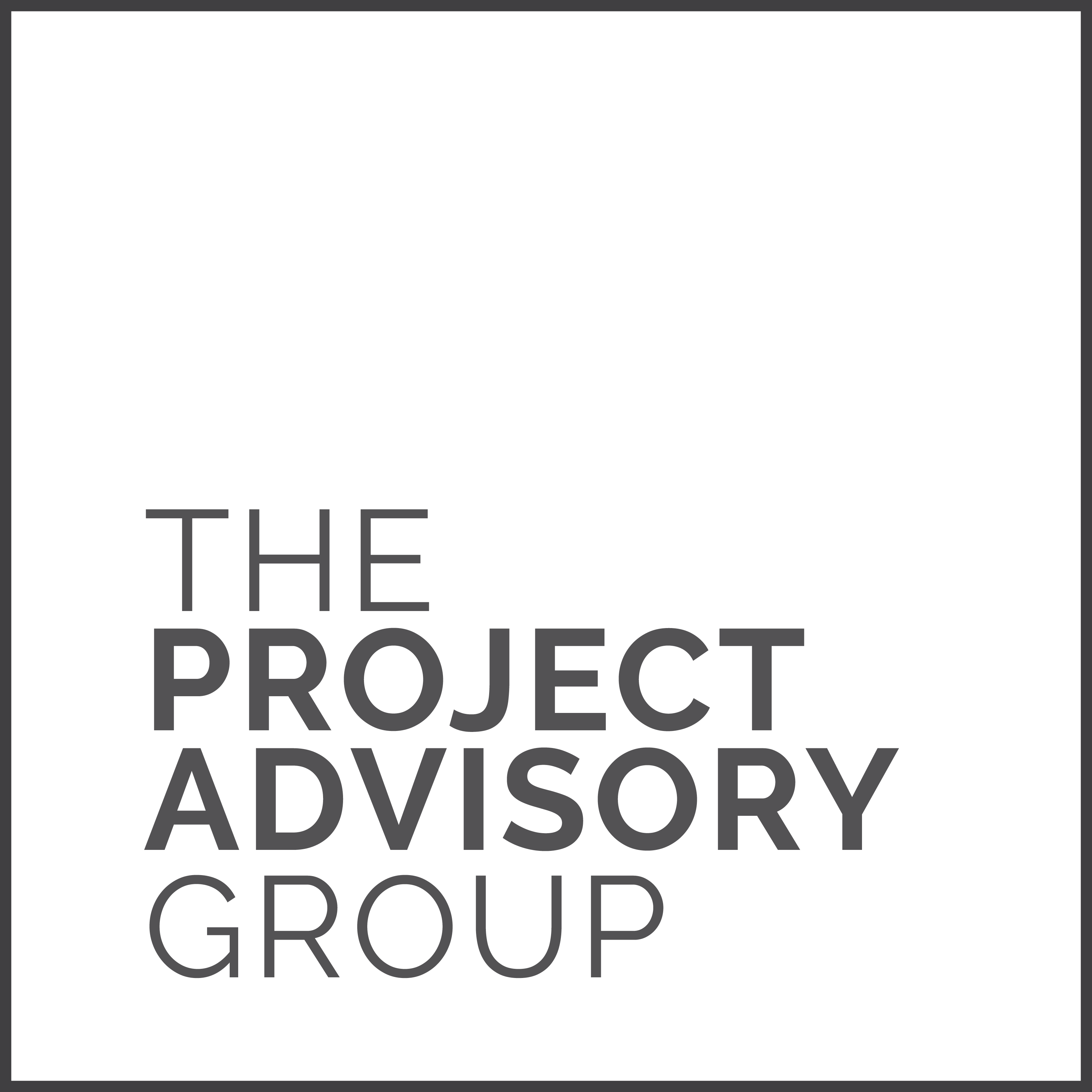 The Project Advisory Group